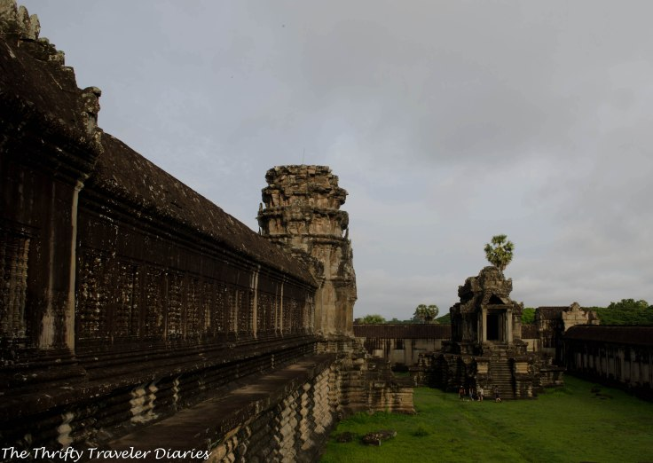 Angkor Wat is believed to be the largest religious complex in the world