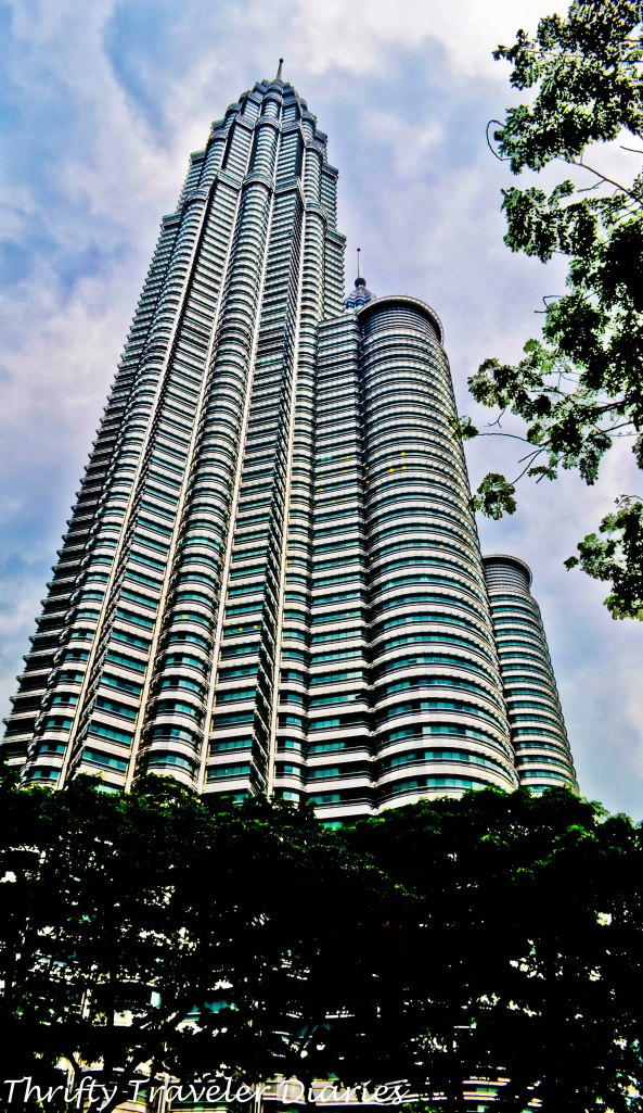 View of the Petronas Towers
