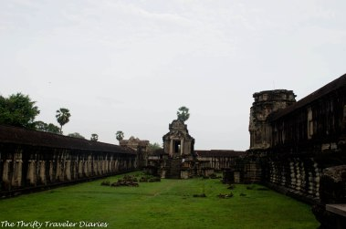 The ancient complex of Angkor Wat