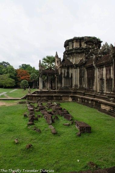 Angkor Wat is a treasure trove of old buildings