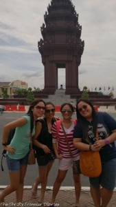 Phnom Penh wit my girlfriends