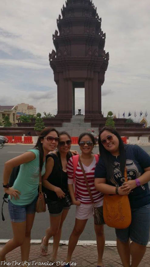 Phnom Penh with my girlfriends