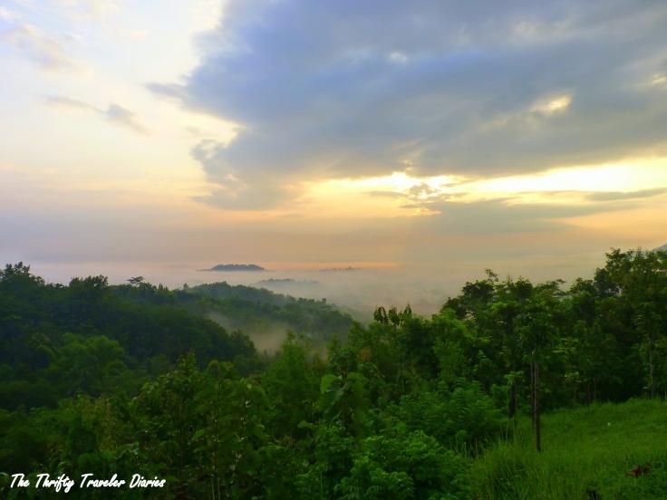 sunrise yogyakarta