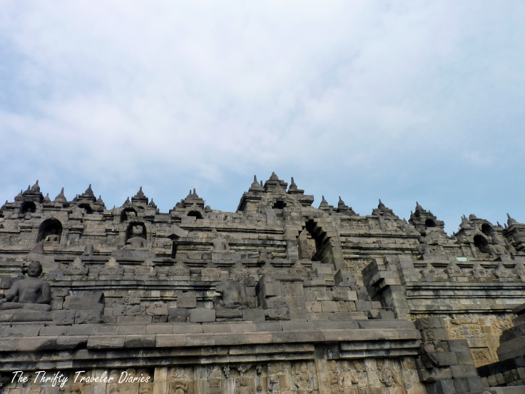 The beautiful Candi Borobudur