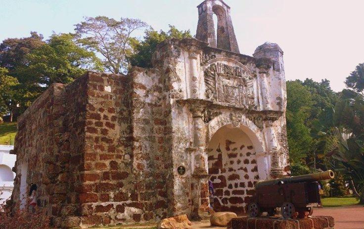 A 'Famosa,Stadthuys,Malacca