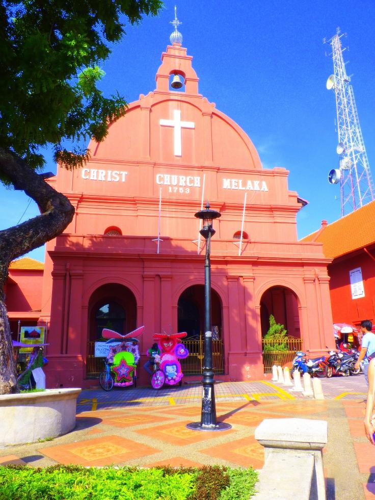 Christ Church,Malacca,Melaka