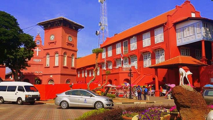 Dutch Square,Stadthuys,Malacca