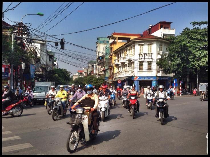 The ubiquitous motorbikes of Vietnam