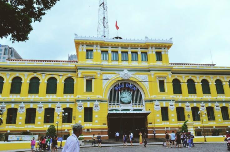 The Saigon Central Post Office
