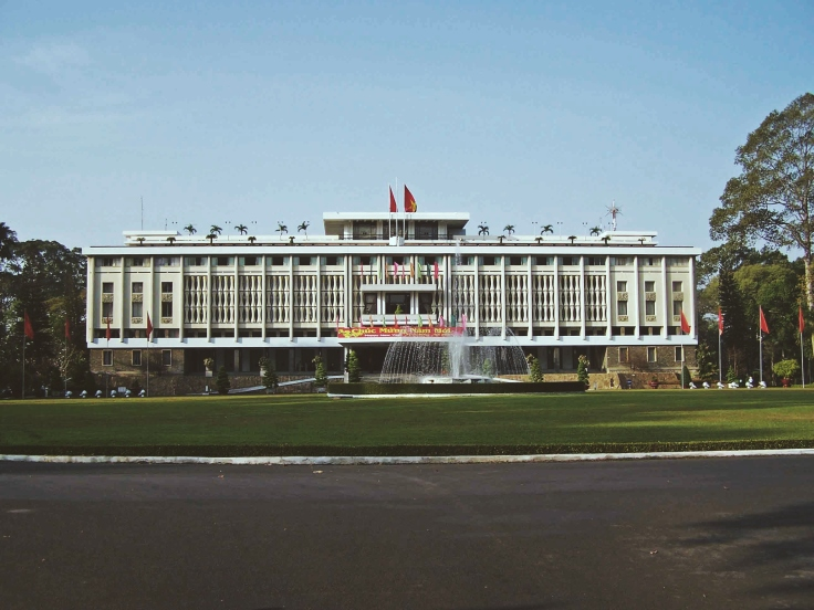 I was not very impressed with the Reunification Palace