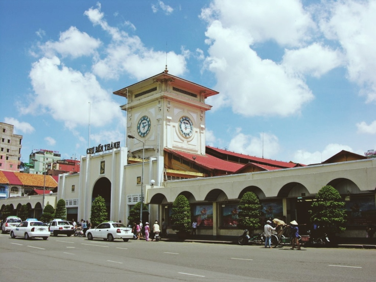 Go to Ben Thanh Market to get yourself kitschy souvenirs or the country's most popular export, coffee!