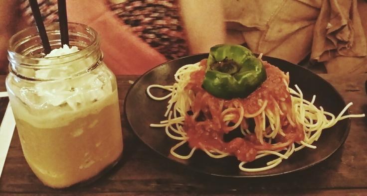 My friend's spaghetti