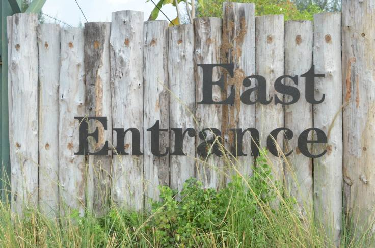 The East Entrance to the island which is seldom taken by visitors